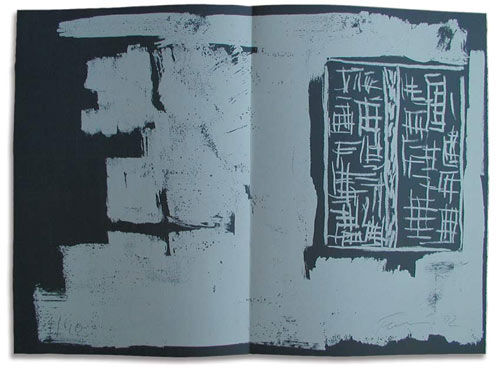 to the builders/ Artists' book