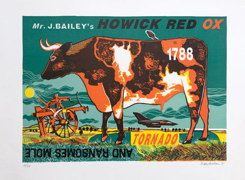 Mr. J. Bailey's Howick Red Ox