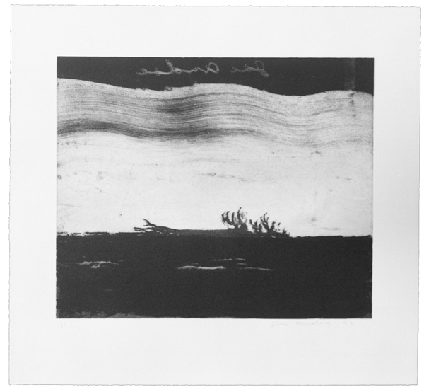 Six Aquatints: Falling Tree