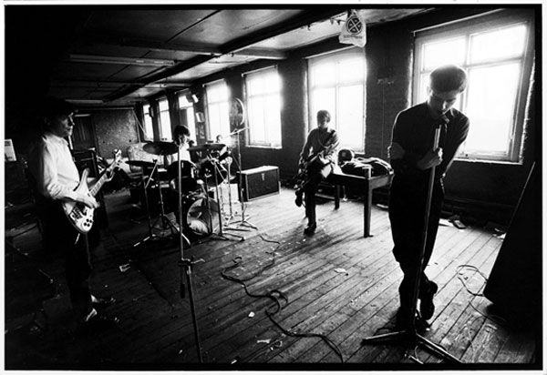 Joy Division. TJ Davidson's rehearsal room, Little Peter Street, Manchester, 19 August 1979