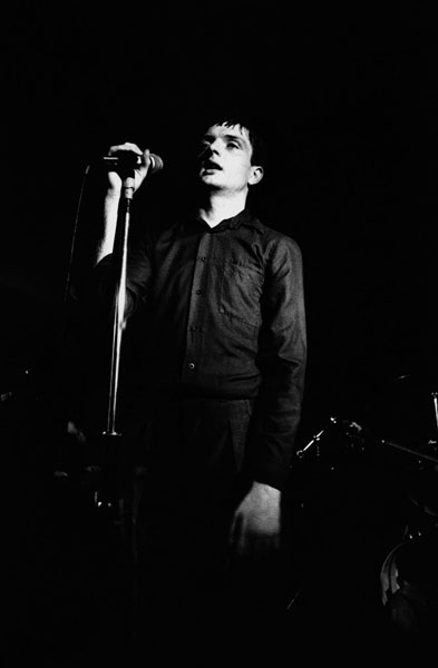 Ian Curtis, Joy Division. The Factory. Hulme Manchester, 6 January 1979