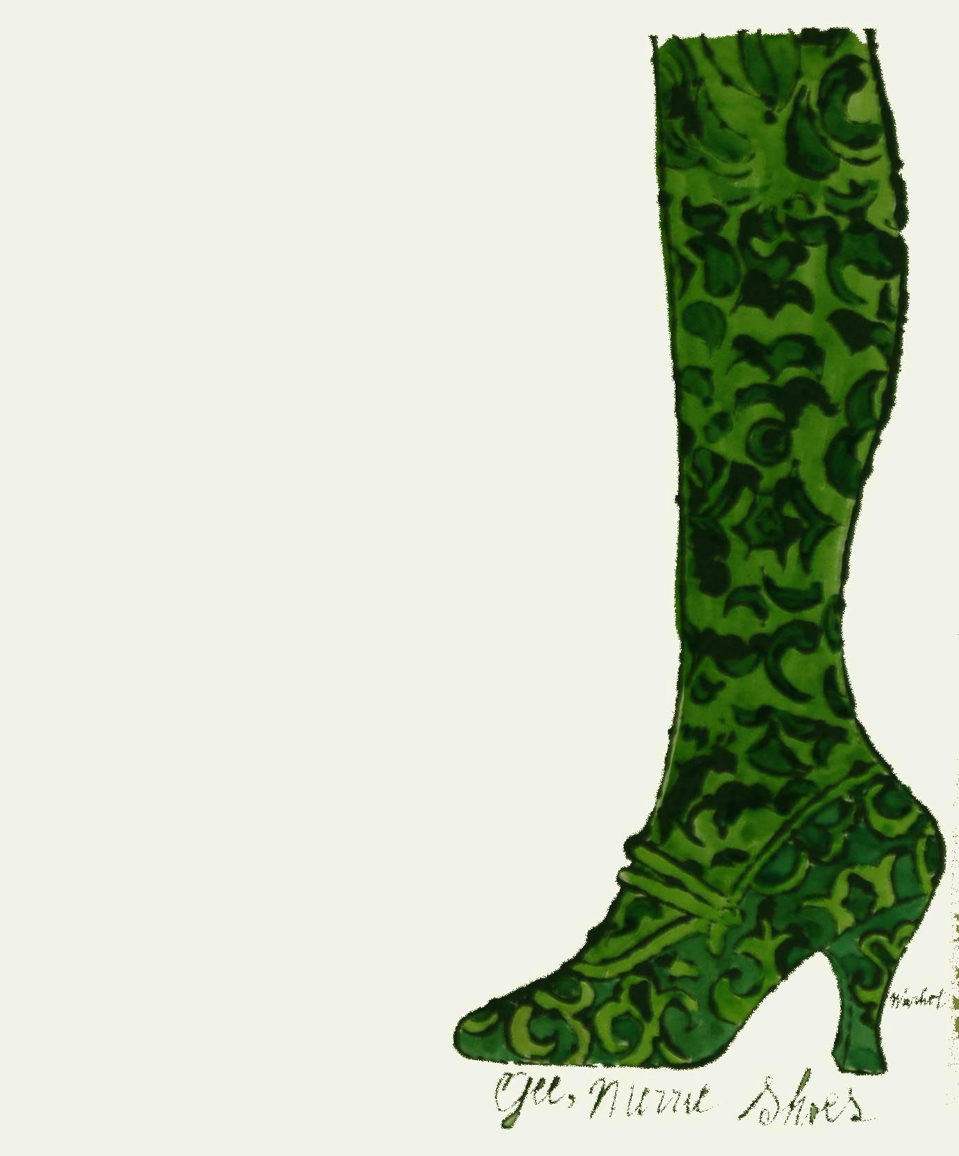 Gee Merrie Shoes - Green