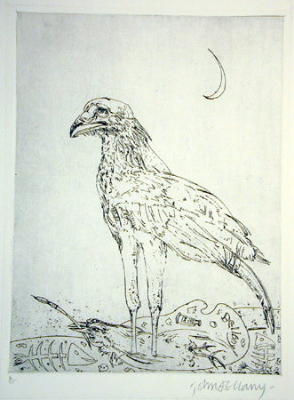 The Eagle Baying at the Moon