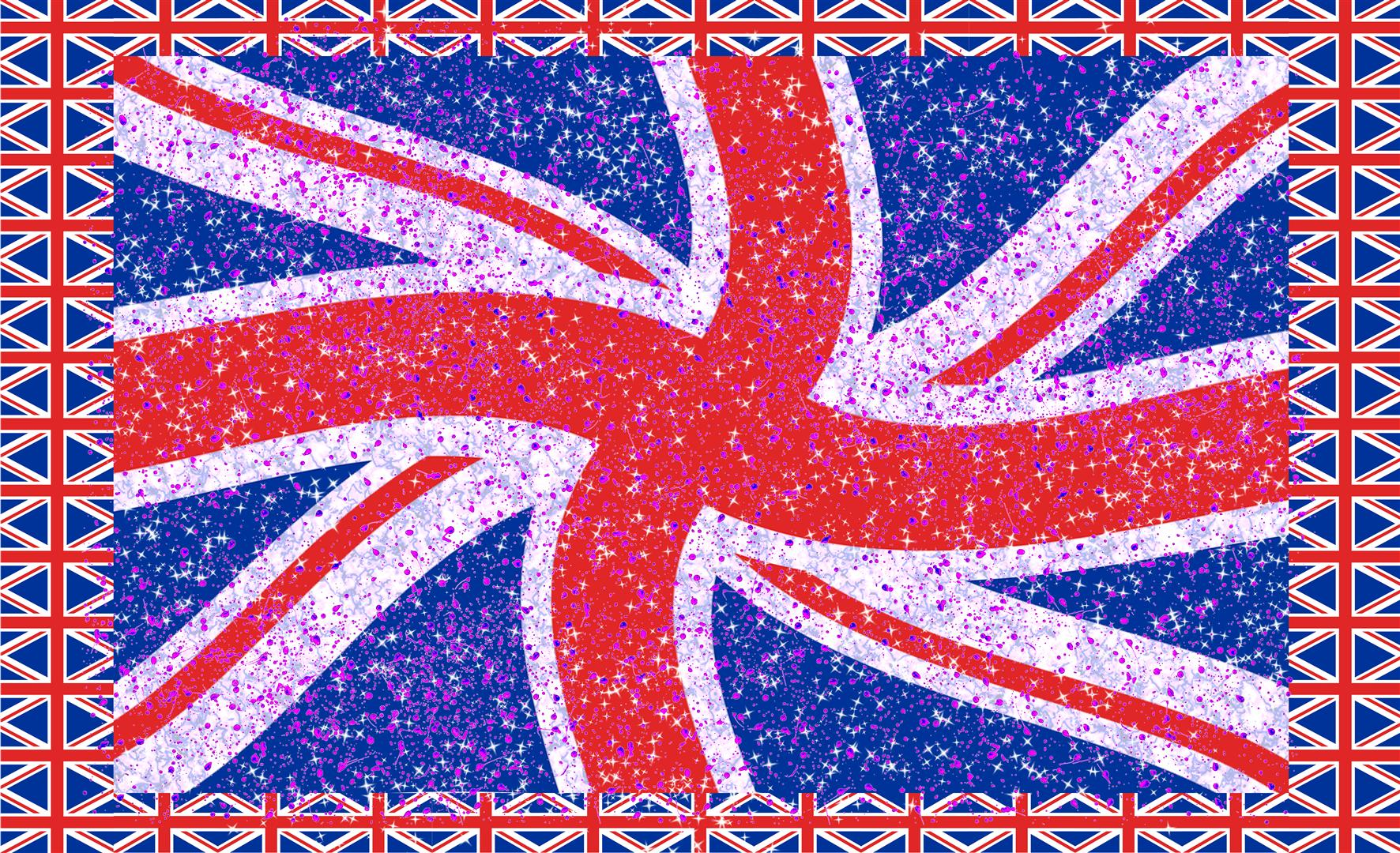 Union Jack Starry Waved