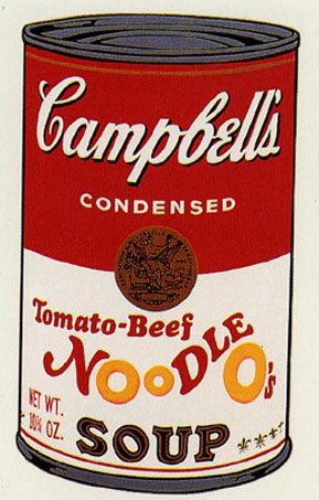 campbell 39 s soup can ii noodle soup andy warhol prints original prints. Black Bedroom Furniture Sets. Home Design Ideas