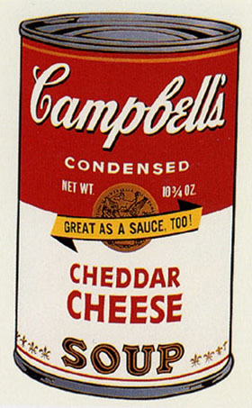 Campbell's Soup II - Cheddar Cheese