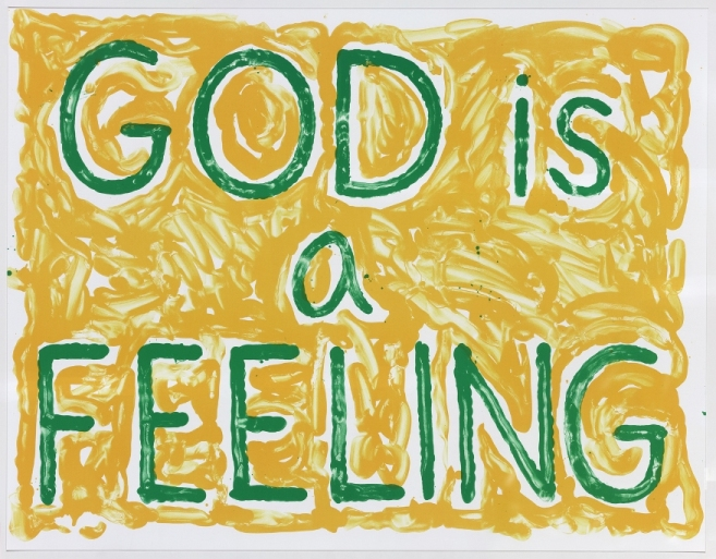 God is a Feeling