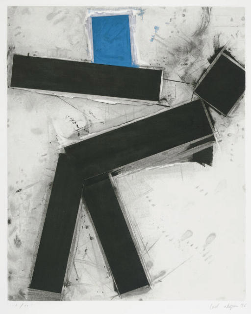 Untitled (Blue and Black)