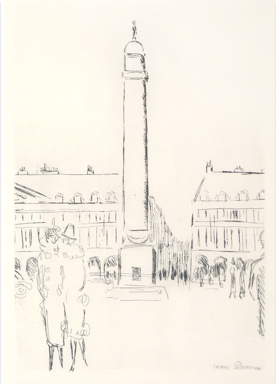 La Place Vendome (from