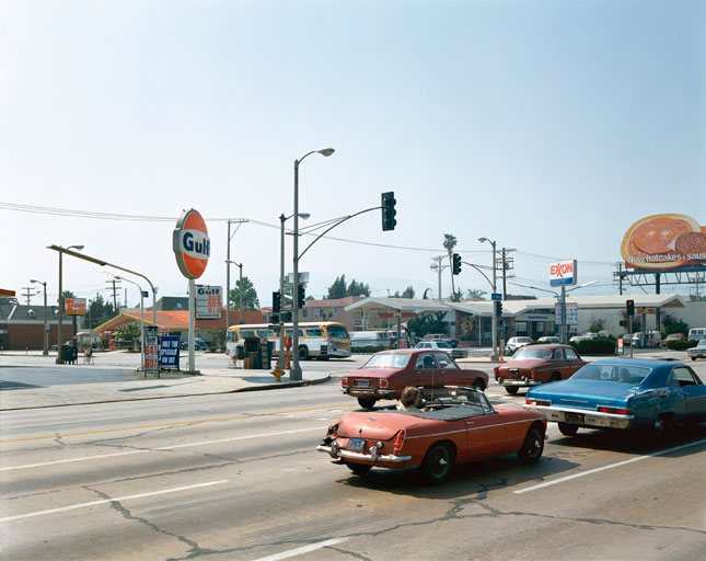 La Brea Avenue, Los Angeles, California, June 21, 1975