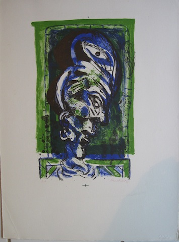 Untitled Blue/Green