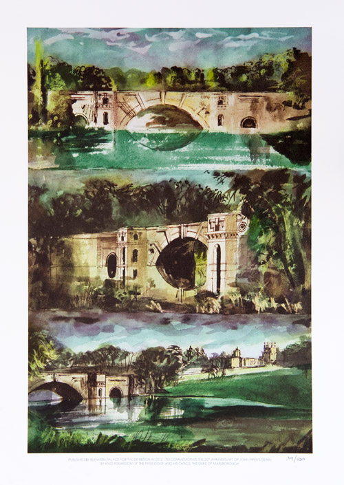 Blenheim Bridge Triptych