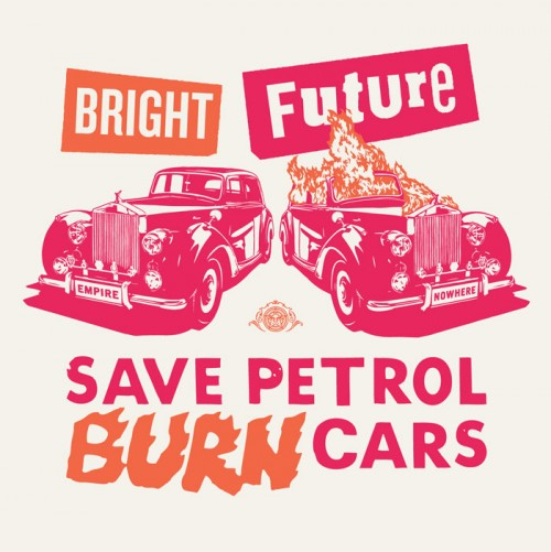 Bright Future (pink/orange)