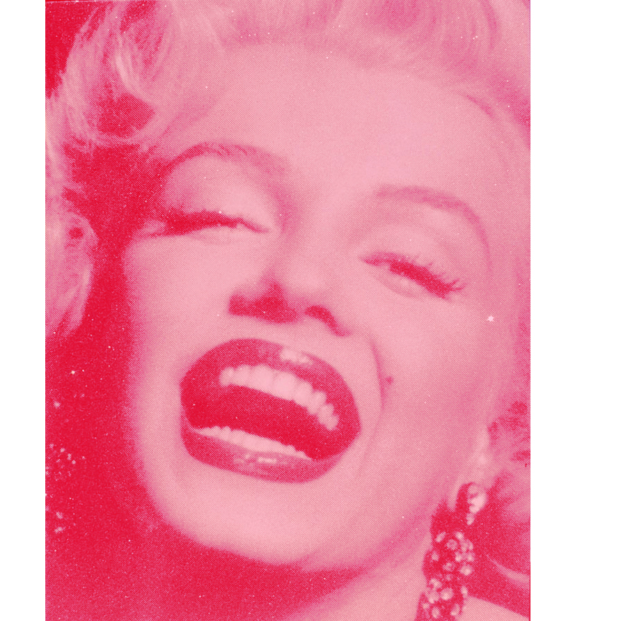 Marilyn Monroe (laughing close-up)