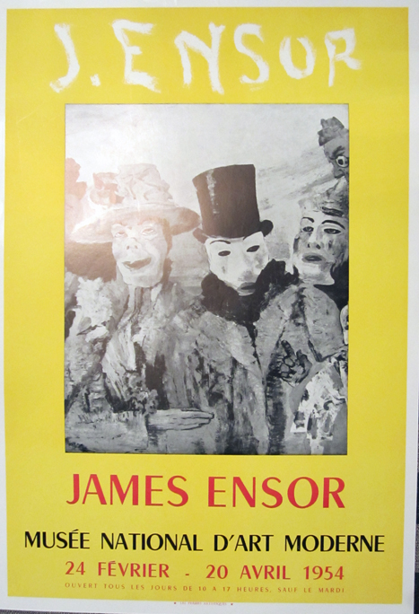 James Ensor, Musee National D'Art Moderne