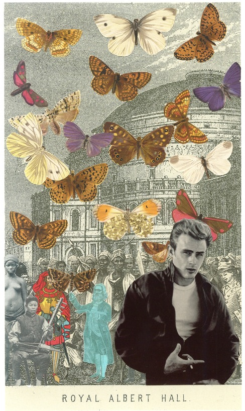 James Dean at the Albert Hall