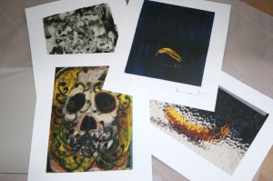 RARE FULL SET OF 4 PRINTS BY DAMIEN HIRST