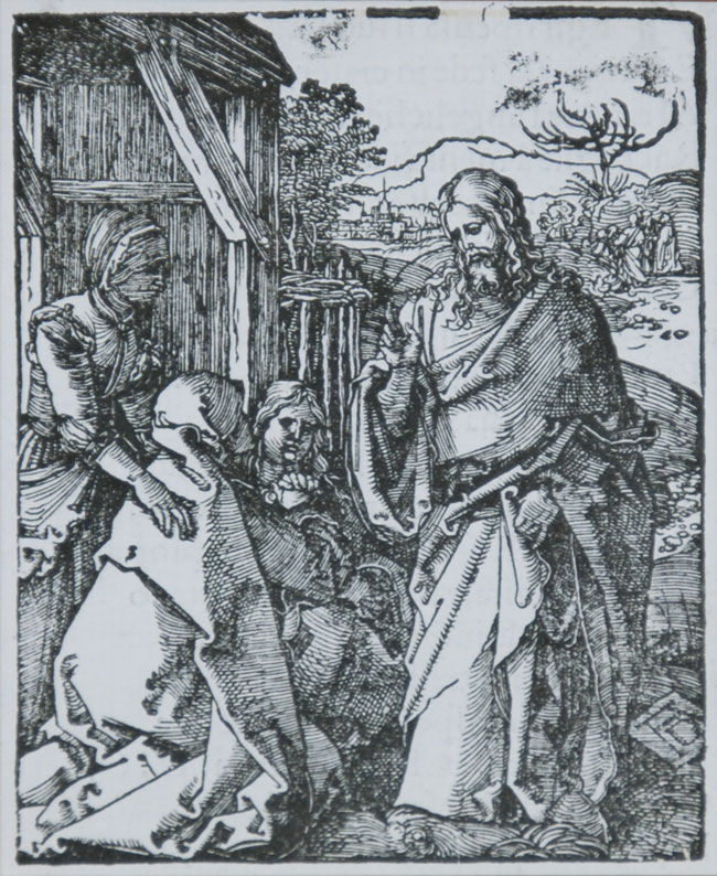 Christ Taking Leave of His Mother (The Small Passion)