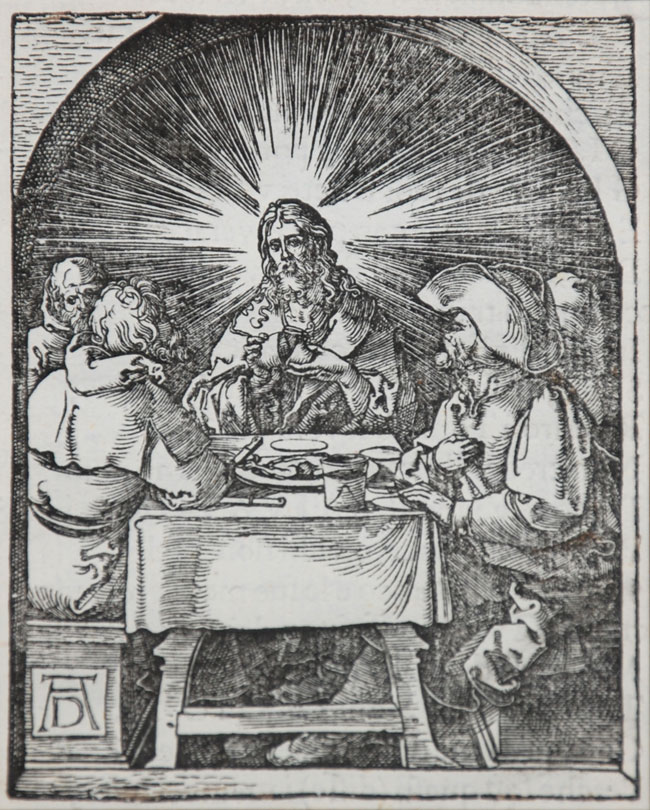 Christ at Emmaus (The Small Passion), 1612