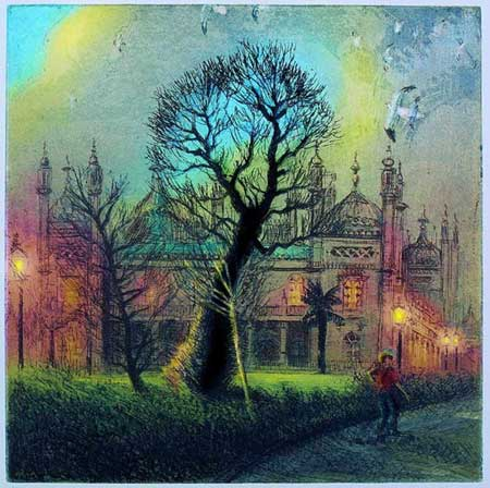 Pruned Elm: December at Brighton Pavilion