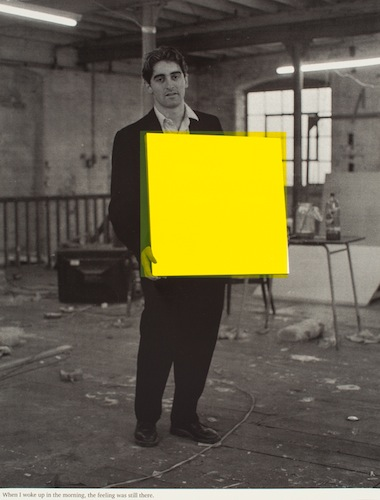 When I woke up in the morning the feeling was still there (yellow)