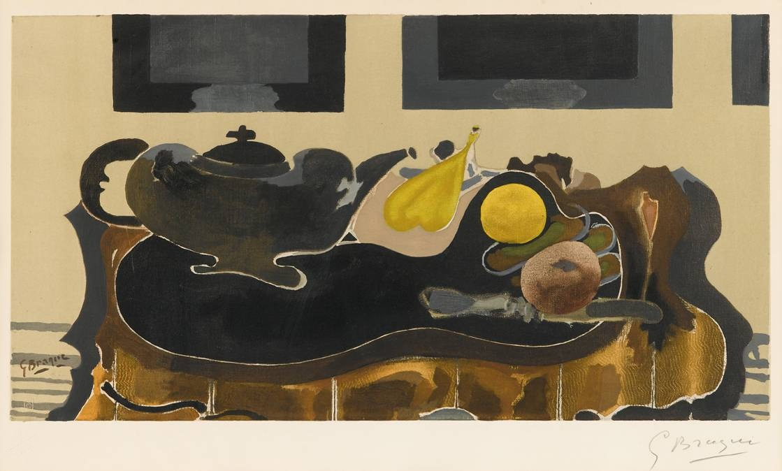Theiere et Fruits - Teapot with Fruits