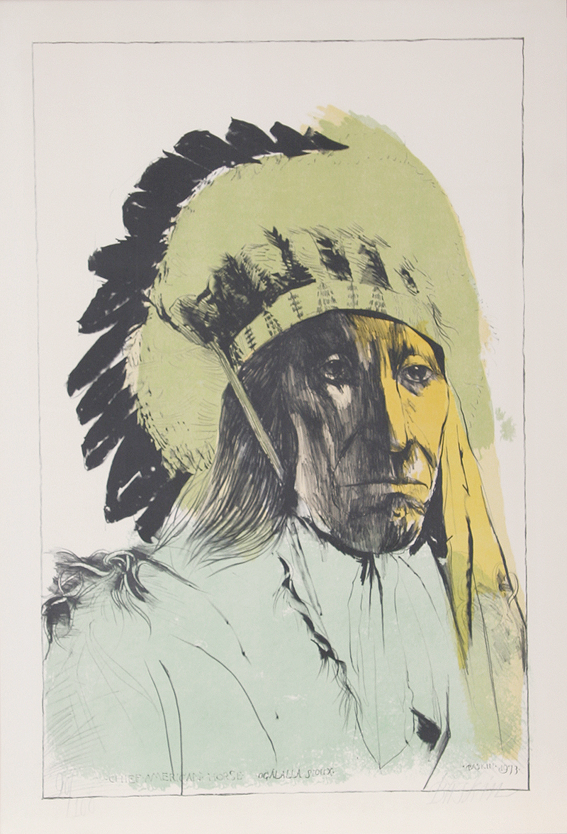 Chief American Horse - Oglalla Sioux