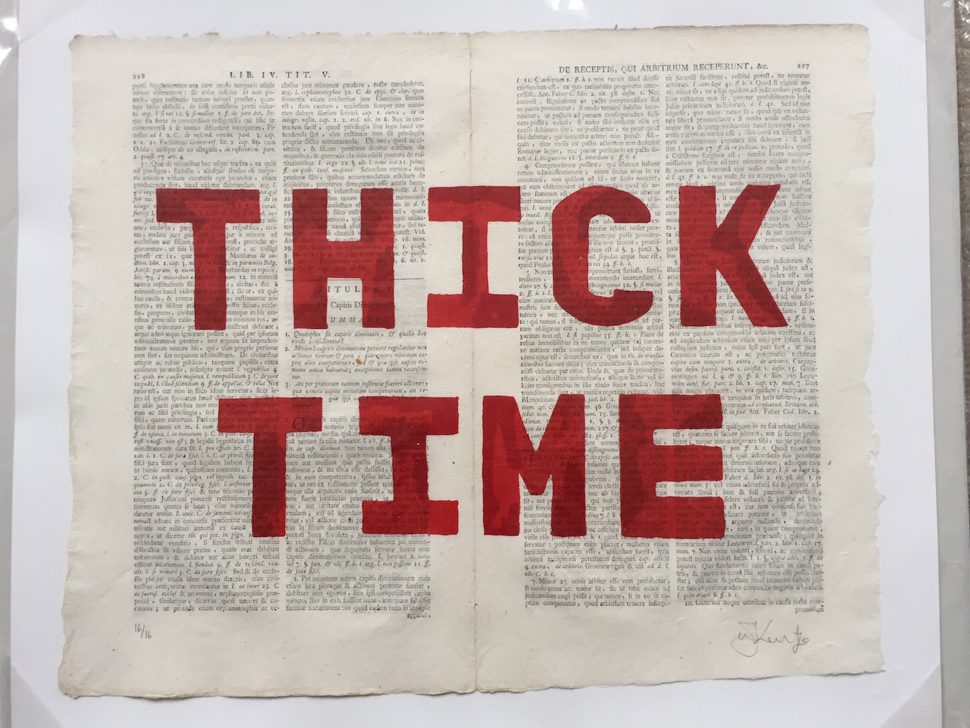 Thick Time