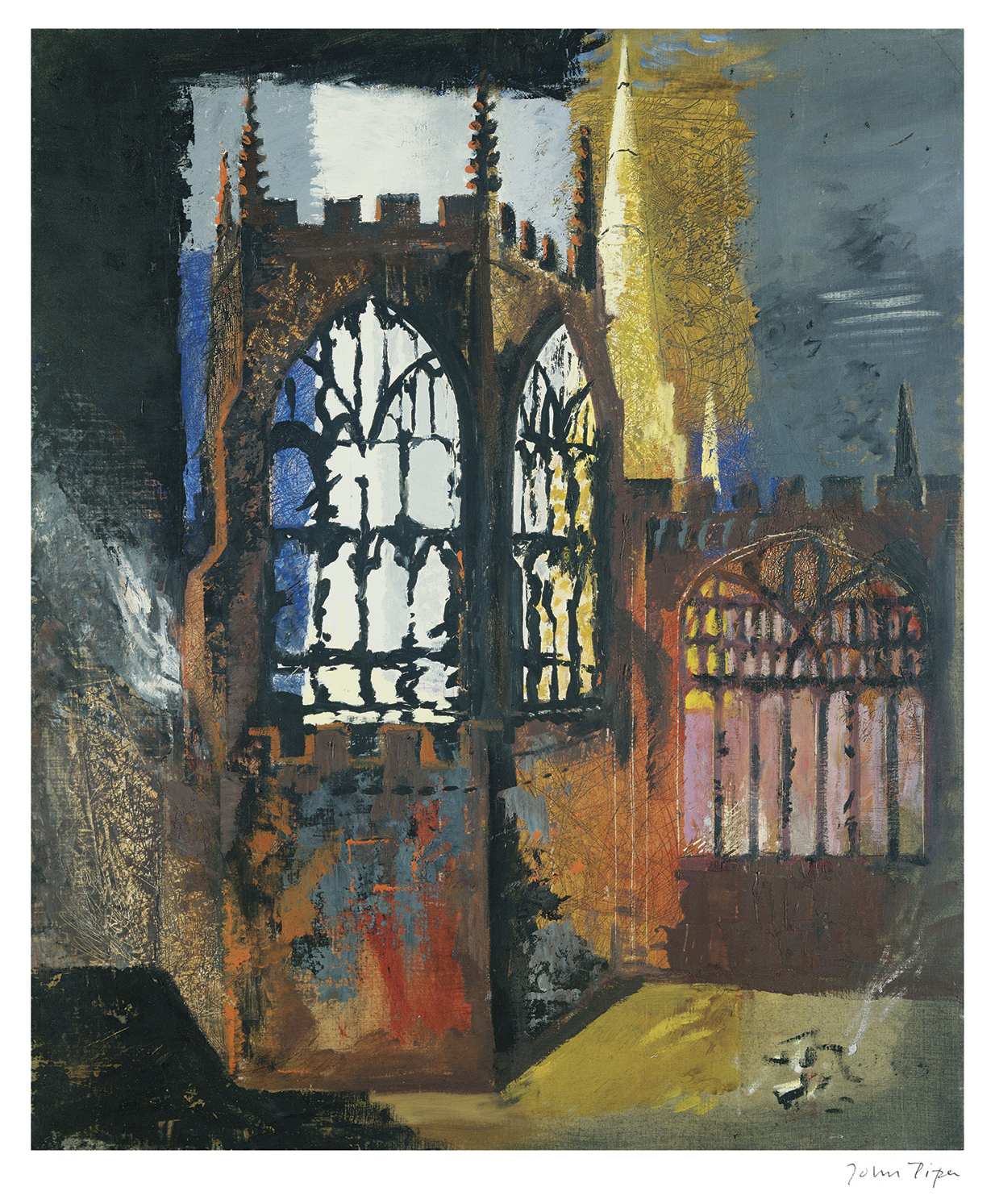 Coventry Cathedral, 15 November 1940