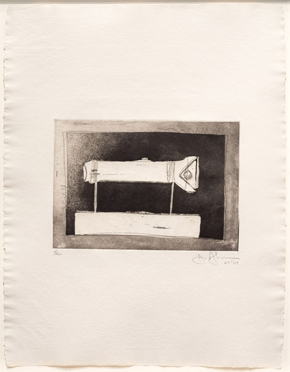 Flashlight, 1st Etchings, 2nd State, 1967-69