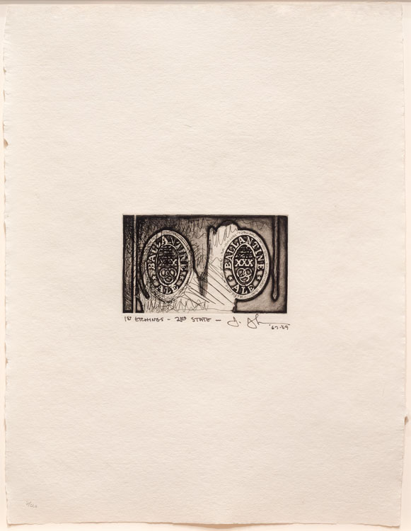 Ale Cans, from 1st Etchings, 2nd State, 1967-69