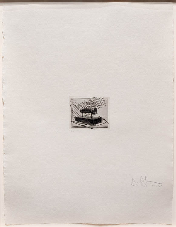 Flashlight (small), from 1st Etchings, 2nd State, 1967-69