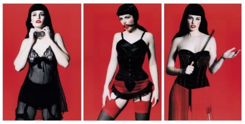 Betty Page Trilogy (triptych)