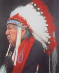 Native American Series: Chief - click to enlarge