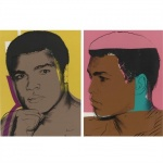 Muhammad Ali-set of four - click to enlarge