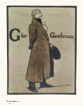 G is for Gentleman - click to enlarge