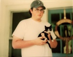 Untitled (Boy with cat) - click to enlarge