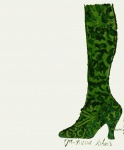 Gee Merrie Shoes - Green - click to enlarge