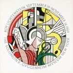 Roy Lichtenstein, Sept. 19-Nov. 16, 1969, The Solomon R. Guggenheim Museum, New York - click to enlarge