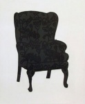 Black Love Chair - click to enlarge