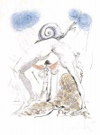 Femme a l'Escargot (Woman with Snail) - click to enlarge