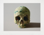 Studio Half Skull, Face on (no Diamond Dust) - click to enlarge