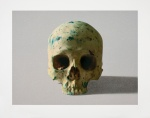 Studio Half Skull, Face on (with Diamond Dust) - click to enlarge