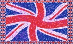 Union Jack Starry Waved - click to enlarge