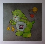 Scare Bear Green - click to enlarge