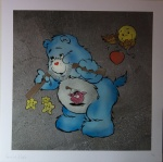 Scare Bear Blue - click to enlarge