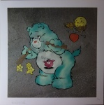 Scare Bear Pale Blue - click to enlarge