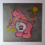 Scare Bear Pink - click to enlarge