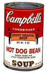 Campbell's Soup Can II - Hot Dog Bean - click to enlarge