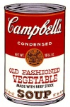 Campbell's Soup Can II - Old Fashioned Vegetable Soup - click to enlarge